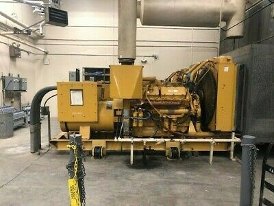 Caterpillar Ditta 3412 - 520kw Diesel Generator Set Hospital Take Out
