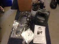 Earlex unused spray gun . Box oprned but never used so new condition