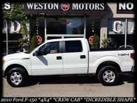 2010 Ford F-150 4X4* CREW CAB* FULLY LOADED* MUST SEE*