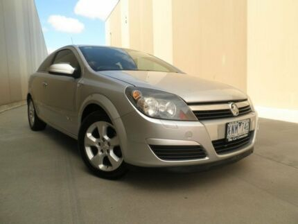 2005 Holden Astra AH MY05 CDX Silver 4 Speed Automatic Coupe