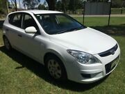 2009 Hyundai i30 FD MY09 SX White 4 Speed Automatic Hatchback Tuggerah Wyong Area Preview