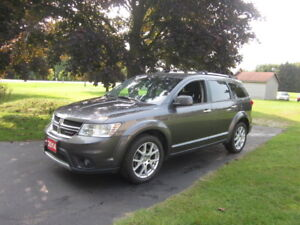 2014 Dodge Journey R/T AWD Clean CarProof $11,000!!!