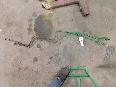 John Deere 20 Series Tractor Rear Remote Pair Of Hydraulic Lines Tag 221