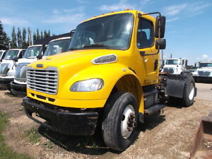 2008 FREIGHTLINER M2 SINGLE AXLE 5TH WHEEL