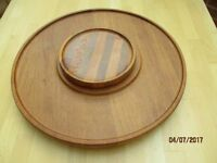 Lazy Susan serving turntable