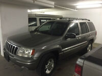 Fully loaded 1999 Jeep Grand Cherokee Limited SUV - NEW TIRES