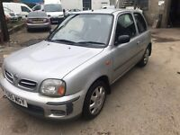 Cheap car of the day 2001 Nissan Micra 1 litre automatic, starts and drives, being sold as spares or