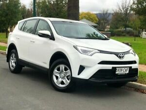2016 Toyota RAV4 ALA49R GX AWD White 6 Speed Sports Automatic Wagon Hillcrest Port Adelaide Area Preview