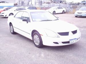 2005 Mitsubishi Magna White Automatic Sedan Embleton Bayswater Area Preview