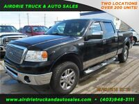 2008 Ford F-150 Lariat 4X4 Crew Cab Short Box Fully Loaded