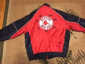 Red Sox 7 Time World Champion Jackets XL