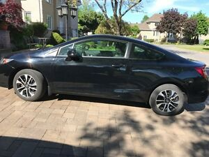 2013 Honda Civic EX Coupe (2 door) / 46k KM / Sunroof