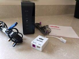 SKY Wireless Wifi Hub 2 Broadband Router SR102 ADSL