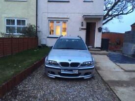 BMW E46 325 estate m tec