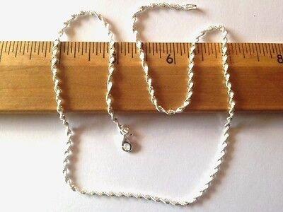 Most Popular Twist Magic 2.3 mm Sterling Chain .925 Pure -