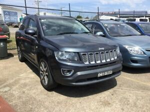 2014 Jeep Compass MK MY14 Limited Dark Grey 6 Speed Sports Automatic Wagon Wickham Newcastle Area Preview
