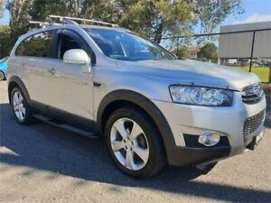 2011 Holden Captiva CG MY10 LX (4x4) Silver 5 Speed Automatic Wagon Granville Parramatta Area Preview