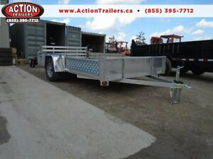 SIDE LOADING ATV/ALL PURPOSE ALUMINUM TRAILER 12' LONG ATP SIDES London Ontario image 1