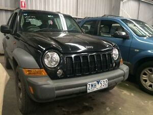 2004 Jeep Cherokee KJ Sport (4x4) Black 5 Speed Automatic Wagon Macquarie Hills Lake Macquarie Area Preview