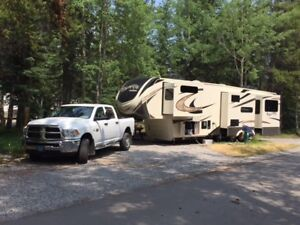 Grand Design Solitude 360RL and Dodge 3500 Truck Package Deal
