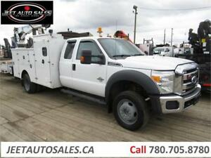 2012 Ford F-550 Service Truck with Crane