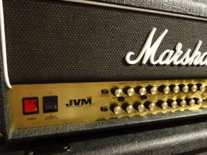 Like New 100Watt Marshall JVM410H Tube Only Guitar Amp HEAD