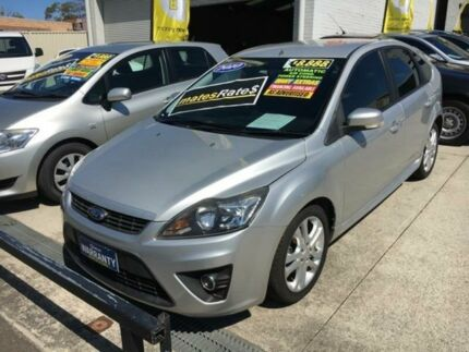 2011 Ford Focus LV Mk II Zetec Silver 4 Speed Sports Automatic Hatchback