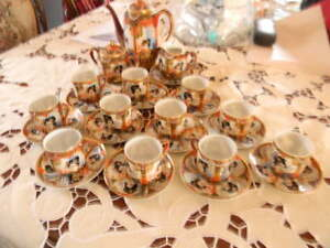 Asian coffee set