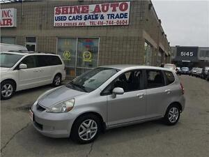 2007 Honda Fit AUTOMATIC, POWER WINDOWS & LOCKS