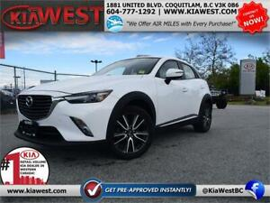 2016 Mazda CX-3 GT SKYACTIV Technology 2.0L AWD