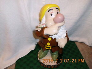 Disney Sneezy (seven dwarfs) - refurbished and repainted