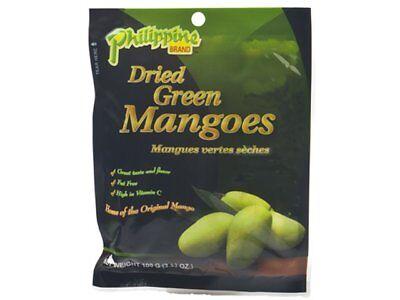 100g Saure Grüne Getrocknete Mango Philippine Brand Pinoy Dried Mangoes