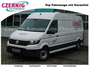 Crafter Kasten 35 Lang Hoch RearView PTS Klima