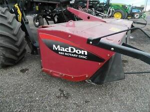2014 MacDon M155 Windrower Regina Regina Area image 7