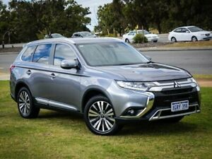 2018 Mitsubishi Outlander ZL MY19 LS 2WD Grey 6 Speed Constant Variable Wagon