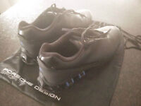 NEW Adidas porsche design shoes leather size 10 - 11 w/ shocks!