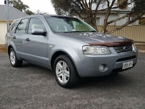 2005 Ford Territory SY Ghia Silver 4 Speed Sports Automatic Wagon Blair Athol Port Adelaide Area Preview