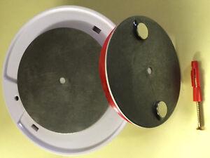 10x Magnethalterung Magnetbefestigung Halterung Magnet Rauchmelder Befestigung