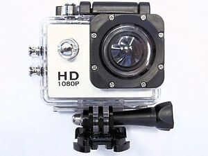SPORTS CAMERA 1080P HIGH DEFINITION-WATERPROOF WITH ACCESSORIES