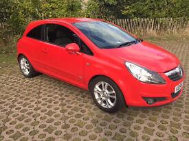 56 reg Vauxhall Corsa Sxi - New MOT - £1575
