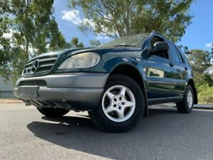 1998 Mercedes-Benz ML320 Green 4 Speed Automatic Wagon Kingston Logan Area Preview