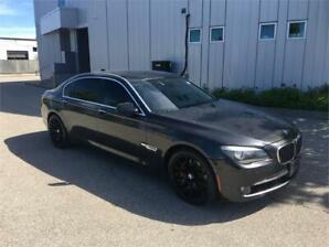 2009 BMW 750LI NAVIGATION CAMERA 155KM BLACK ON BLACK