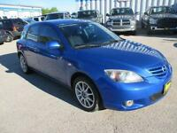 2004 MAZDA 3 HATCHBACK AUTOMATIC, $4,750 HAS SAFETY AND WARRANTY