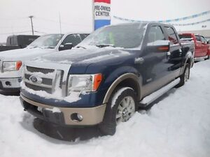 2012 Ford F-150 King Ranch 4x4 SuperCrew Cab 6.5 ft. box 157 in.