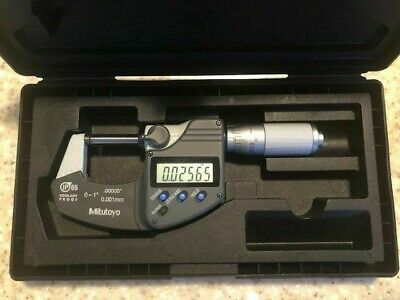 Mitutoyo Digital Micrometer 293-344 0-10-25.4mm Ip65