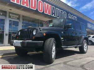 2013 Jeep Wrangler Unlimited Sahara, hard and soft top included!
