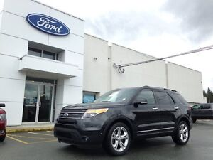 2014 Ford Explorer Limited with Blind Spot System, Navigation, T