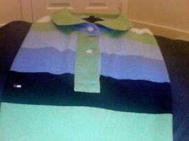 Multi coloured Tommy Hilfiger polo shirt [short sleeve] XXL - Slim fit
