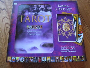 SIMPLY TAROT 64 page Book & 78 Card Gift Box Set