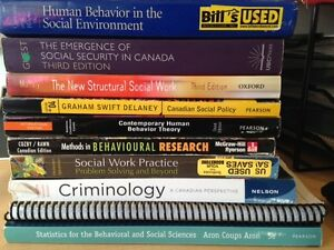 Social Work (and other) text books Sarnia Sarnia Area image 2